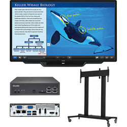 """Sharp PN-L803C 80"""" Class AQUOS BOARD Interactive Display System with PC & Floor Stand"""