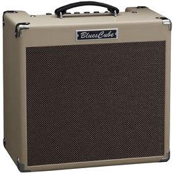 """Roland Blues Cube Hot 30W 1x12"""" Guitar Combo Amplifier (Vintage Blonde)"""