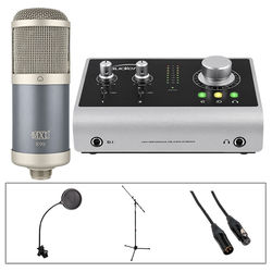 MXL Podcast Recording Bundle