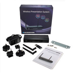 QVS WePresent WGA-310 VW-4PHU VGA/HDMI Wireless Presentation System