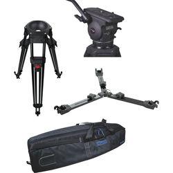Cartoni Focus 12 Fluid Head with L501 Tripod Legs & Mid-Spreader (100mm)