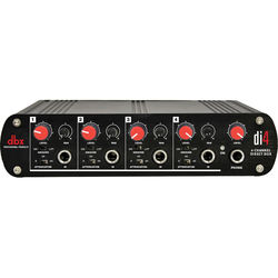 dbx DI4 4-Channel Active Direct Box and Line Mixer