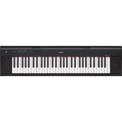 Yamaha NP-12 Piaggero - Portable Piano-Style Keyboard (Black)