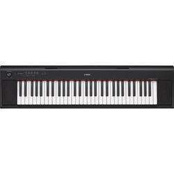 Yamaha NP-12 Piaggero - Portable Piano-Style Keyboard (Black)