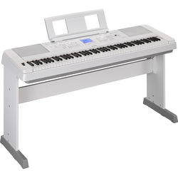 Yamaha DGX-660 - Portable Grand Digital Piano (White)