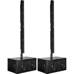 K-Array KR802 High-Performance, Self-Powered Stereo System