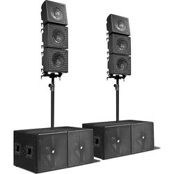 "K-Array KRX802 Line Array with Mid-High 12"" Coaxial Speaker Element"