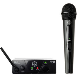 AKG WMS40 Mini Single Vocal Set Wireless Microphone System (Band: C)