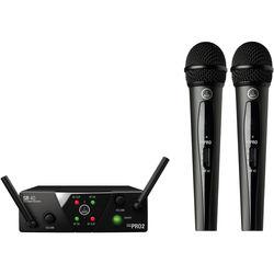 AKG WMS40 Mini Dual Vocal Set Wireless Microphone System (Band: C & D)