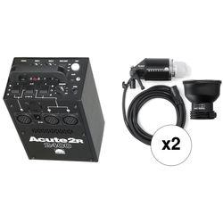 Profoto Acute 2R 2400W/s 2 Head Pro Value Pack (90-260V)