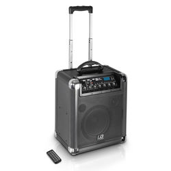 LD Systems Roadjack 8 Battery-Powered Bluetooth Loudspeaker with Mixer