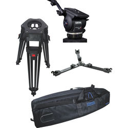 Cartoni Focus 22 Fluid Head with H601 Tripod Legs & Mid Spreader (100mm)