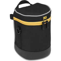 "Ruggard Lens Case 6 x 3.5"" (Black)"