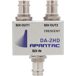 Apantac Passive 1 x 2 Triple-Rate 16-Channel DA for 3G/HD/SD-SDI, CVBS and ASI