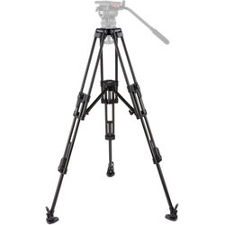 Camgear ENG/CF2 2-Stage 100mm Bowl Tripod with Mid-Level Spreader (Carbon Fiber)