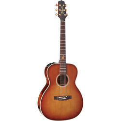 Takamine TF77-PT Orchestra Style Acoustic/Electric Guitar with Tuner
