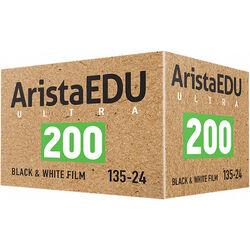 Arista EDU Ultra 200 Black and White Negative Film (35mm Roll Film, 24 Exposures)