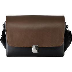 Olympus CBG-11 PR Premium Leather Camera Bag for PEN-F (Brown/Black)