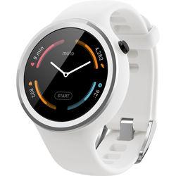Motorola Moto 360 Sport Smartwatch (White)