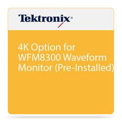 Tektronix 4K Option for WFM8300 Waveform Monitor (Pre-Installed)