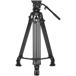 E-Image EG05A2 Two-Stage Aluminum Tripod with GH05 Head (75mm)