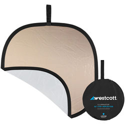 "Westcott Illuminator Sunlight/White Reflector (30"")"