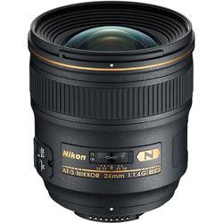 Nikon AF-S NIKKOR 24mm f/1.4G ED Lens (Open Box)