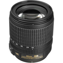 Nikon AF-S DX NIKKOR 18-105mm f/3.5-5.6G ED VR Lens (Open Box)