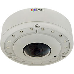 ACTi B74 8MP True Day/Night Vandal-Resistant Outdoor Hemispheric Dome Camera