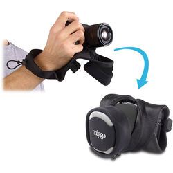 miggo Grip and Wrap for Mirrorless and Compact System Cameras (Black)