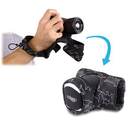 miggo Grip and Wrap for Mirrorless and Compact System Cameras (Space Zoo)
