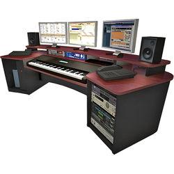 Omnirax Force Keyboard Composing Workstation (Mahogany Formica)