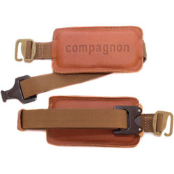 """compagnon """"The Waistbelt"""" Backpack Harness (Light Brown)"""