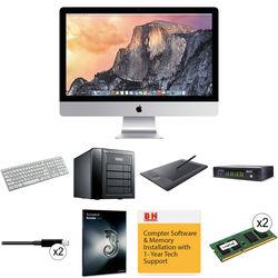 B&H Photo iMac Turnkey Apple iMac, Autodesk Smoke 2013, 3G-SDI I/O and 8TB RAID