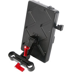 CAME-TV VM02 V-Mount Battery Plate with Connection Cables