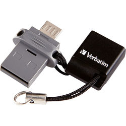 Verbatim Store 'n' Go Dual USB Flash Drive for OTG Devices (32GB)