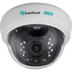 EverFocus 1080p True Day/Night IR AHD Dome Camera with 2.8-12mm Varifocal Lens (White)