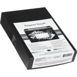 "Regent Royal Film Regent Royal Hard Dot Camera Film (4 x 5"", 50 Sheets)"