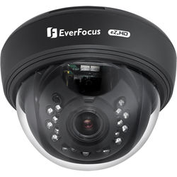 """EverFocus ID DOME 1/2.8"""" 1.37MP CMS 2.8-12mm BLK"""