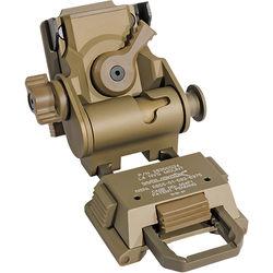 IR DEFENSE Wilcox G24 Helmet Mount for IR Patrol M250 & M300W (Tan)