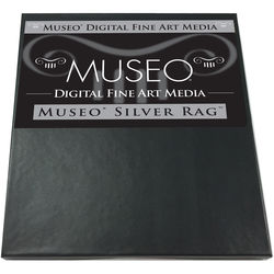 "Museo Silver Rag Paper - 8.5x11"" - 25 Sheets"