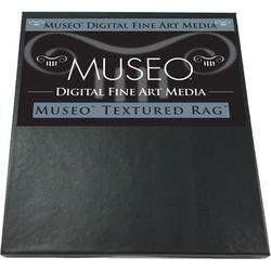 "Museo Textured Rag Digital Fine Art Watercolor Paper (8.5 x 11"", 25 Sheets)"