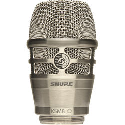 Shure RPW170 KSM8 Dualdyne Cardioid Dynamic Wireless Microphone Capsule (Nickel)