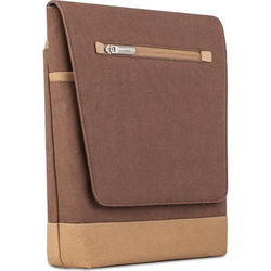"Moshi Aerio Lite Vertical Messenger Bag for Select Apple iPads or Apple 12"" MacBook (Cocoa Brown)"