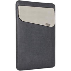 """Moshi Muse 13 Slim Fit Carrying Case for 13"""" MacBook, Air, Pro, Retina or iPad Pro (Graphite Black)"""