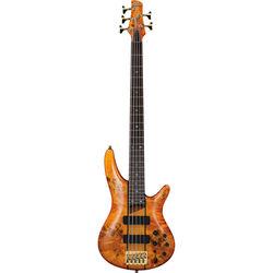 Ibanez SR Series - SR805 - 5-String Electric Bass Guitar (Amber)