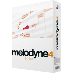 Celemony Melodyne Editor 4 - Polyphonic Pitch Shifting/Time Stretching Software (Boxed)