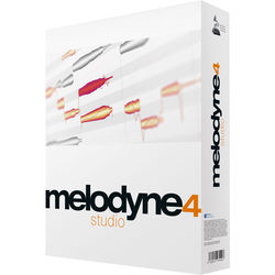 Celemony Melodyne Studio 4 - Polyphonic Pitch Shifting/Time Stretching Software (Boxed)
