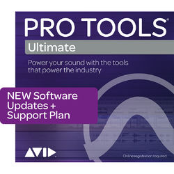 Avid Pro Tools | Ultimate Upgrade Perpetual License with Reinstatement Plan (Boxed)