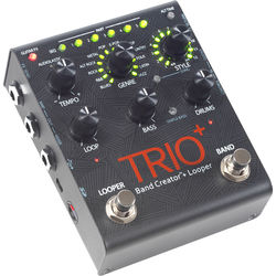 DigiTech TRIO+ Band Creator Pedal with Built-In Looper